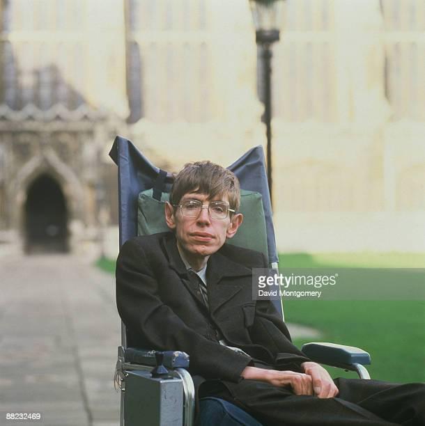 British theoretical physicist Stephen Hawking Cambridge January 1993