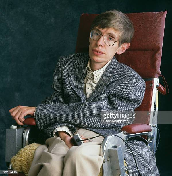 British theoretical physicist Stephen Hawking Cambridge January 1993