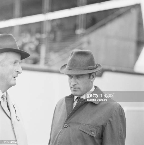 British Thoroughbred racehorse trainer Fulke Johnson Houghton, UK, 12th August 1969.