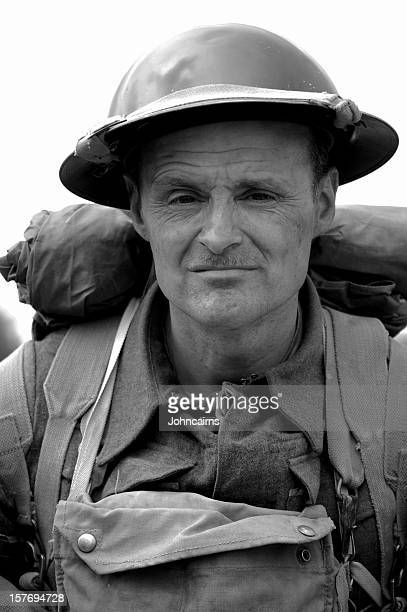 ww2 british tommy - dunkirk evacuation stock pictures, royalty-free photos & images