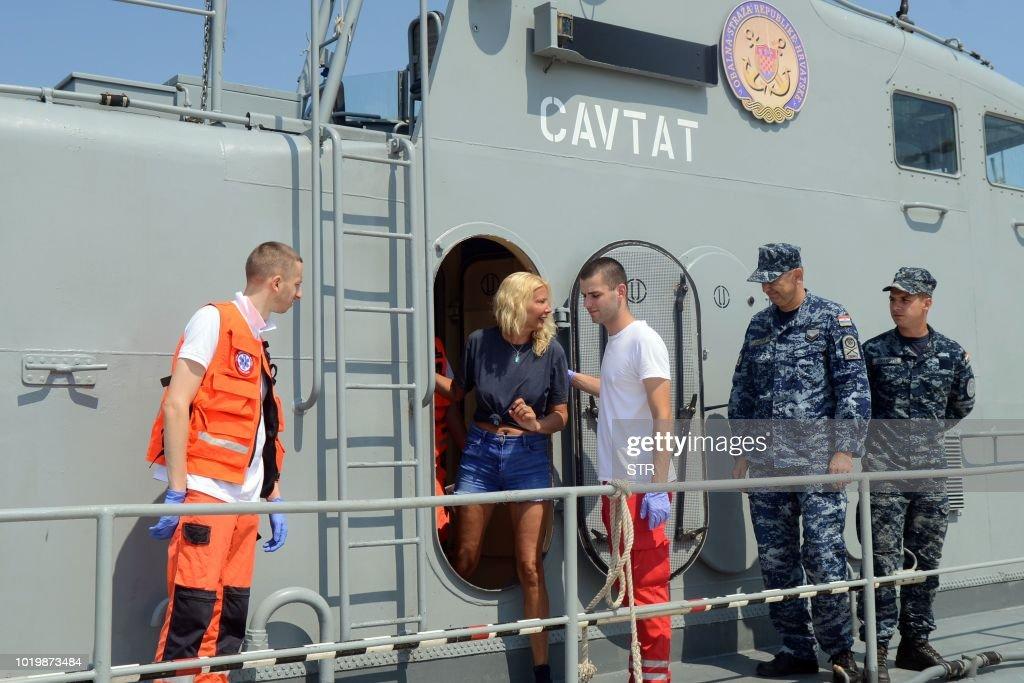 CROATIA-UK-TOURISM-ACCIDENT : News Photo