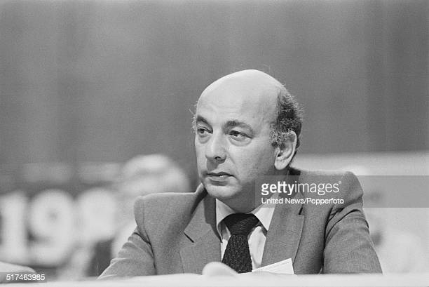 British trade unionist and General Secretary of the Association of Cinematograph, Television and Allied Technicians , Alan Sapper pictured on the...