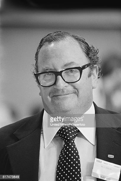 British trade unionist and General Secretary of the Association of Scientific, Technical and Managerial Staffs , Clive Jenkins pictured at the Trades...