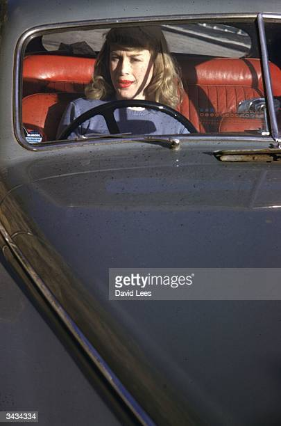 Roberta Cowell, formerly Robert Cowell driving her car in the south of France. Roberta was once a Spitfire pilot, prisoner-of-war, racing motorist,...