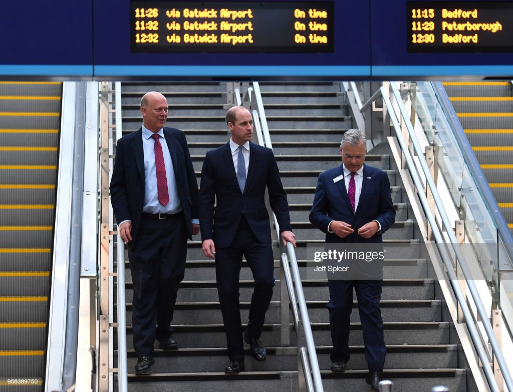 The Duke Of Cambridge Officially Opens London Bridge Station : News Photo