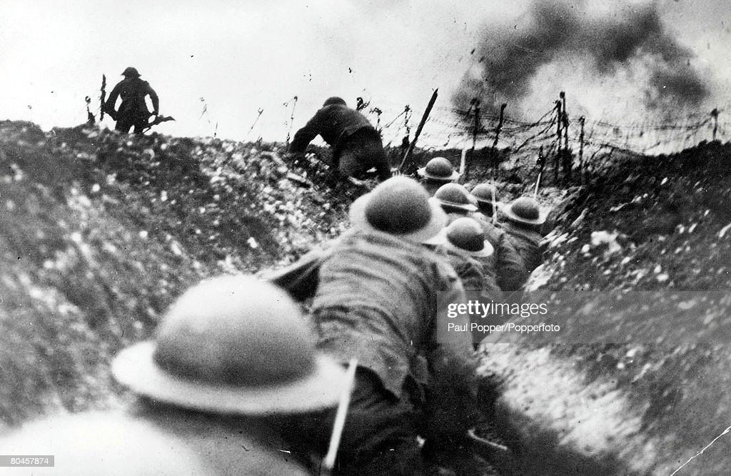 Troops At The Somme : News Photo