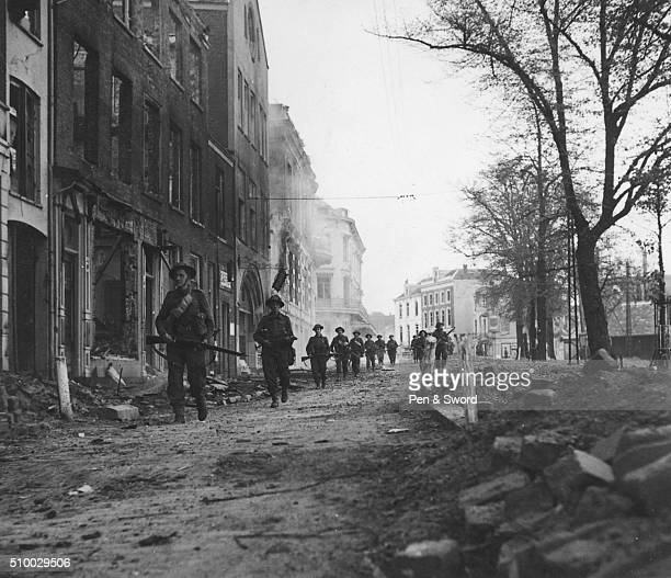 British troops in Eindhoven Netherlands Netherlands