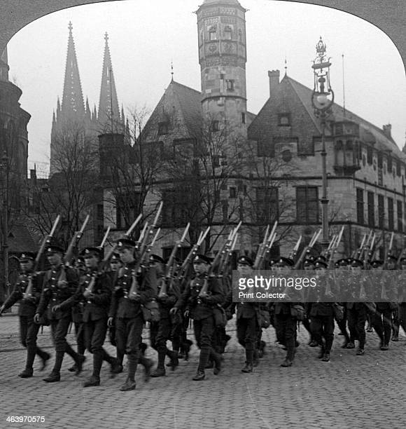 British troops marching in Cologne Germany 19181926 Under the terms of the armistice ending the First World War and the subsequent Treaty of...