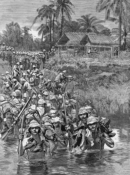 British Troops In Burma Wall Art