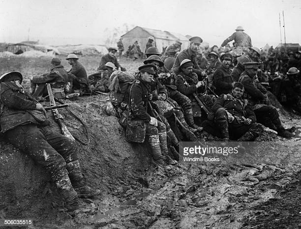 British troops Somme area 1916 British Front France 1916 General