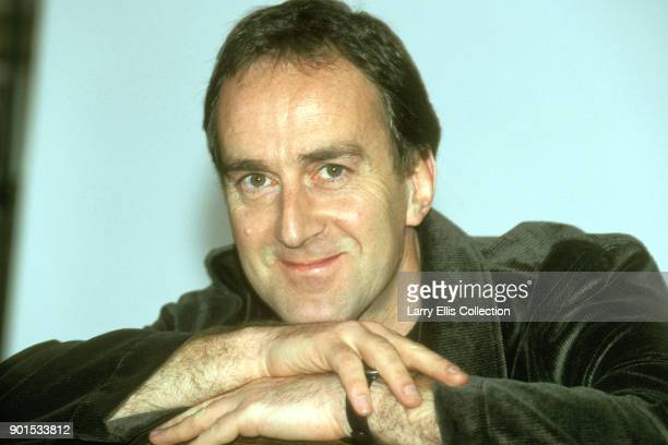 British TV personality Angus Deayton perhaps best known as the original presenter of the BBC's topical quiz 'Have I Got News For You' 1990