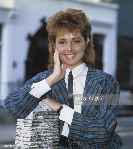 British TV Presenter Carol Vorderman Presenter of the Channel 4 TV game show 'Countdown'