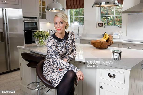 British TV presenter Laura Hamilton United Kingdom 14th November 2014