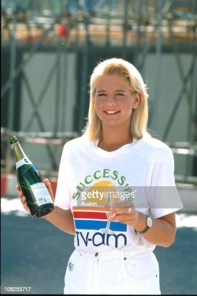British TV Presenter Ulrika Jonsson