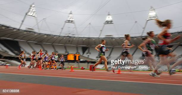 British Universities Colleges Sport Visa Outdoor Athletics Championships at the Stadium London Olympic Park 6 May 2012 Image by �� Paul...