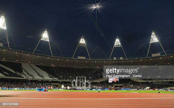 British Universities Colleges Sport Visa Outdoor Athletics Championships at the Stadium London Olympic Park 5 May 2012 Image by �� Paul...