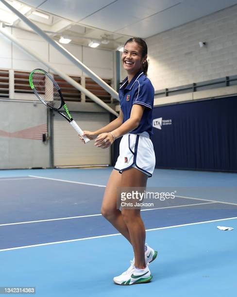 British US Open champion Emma Raducanu returns to the LTA's National Tennis Centre for The Homecoming and to celebrate their success on September 24,...