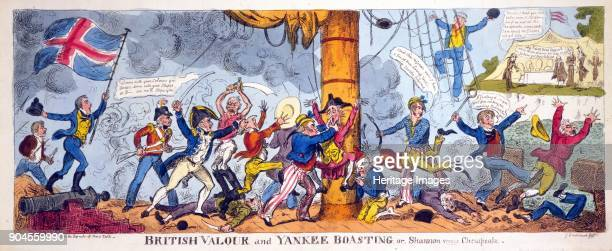 British Valour and Yankee Boasting or Shannon versus Chesapeake pub 1813