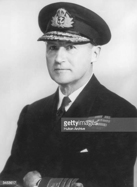 British Vice Admiral Sir Bertram Ramsay circa 1943 Ramsay was Allied Naval Commander in Chief under General Eisenhower during World War II