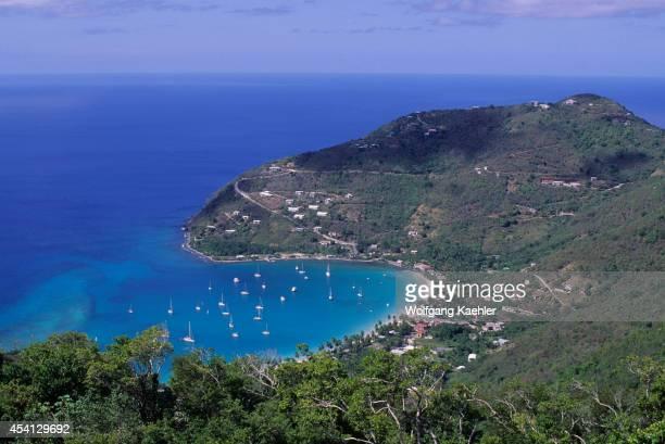 British Virgin Island Tortola Is View Of Cane Garden Bay