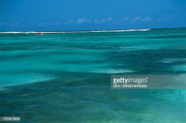 British Virgin Islands Anegada Island The sea near Setting Point