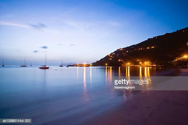 british virgin islands, tortola, cane garden bay - cane garden bay stock pictures, royalty-free photos & images