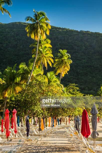 british virgin islands, tortola, exterior - cane garden bay stock pictures, royalty-free photos & images
