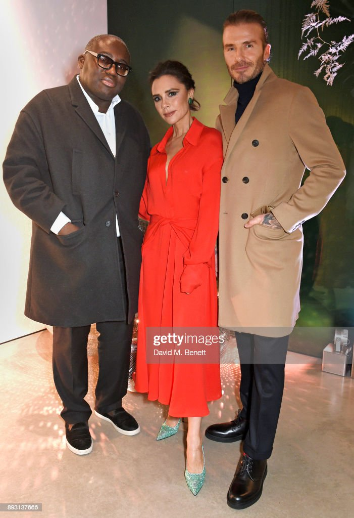 Victoria Beckham Christmas Open House With British Vogue