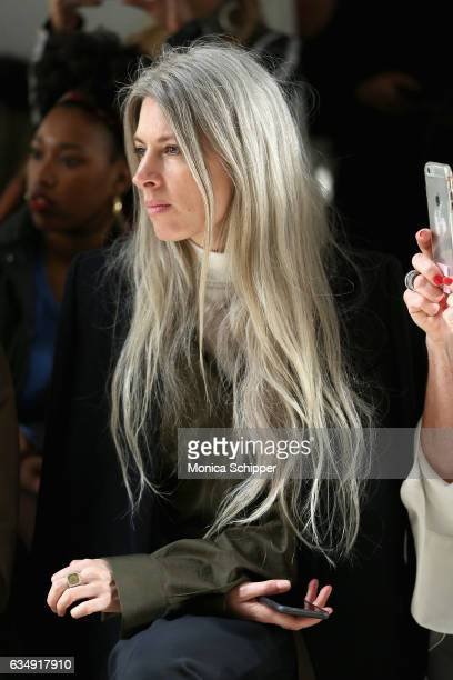British Vogue Fashion Features Director Sarah Harris attends the Tome collection during New York Fashion Week The Shows at Gallery 2 Skylight...