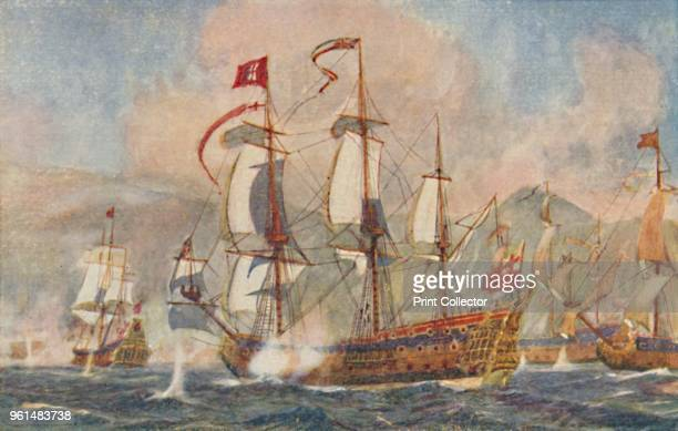 British Warship of the 17th Century' 1924 From The British Empire in Pictures by H Clive Barnard MA BLitt [A C Black Limited London 1924]Artist...