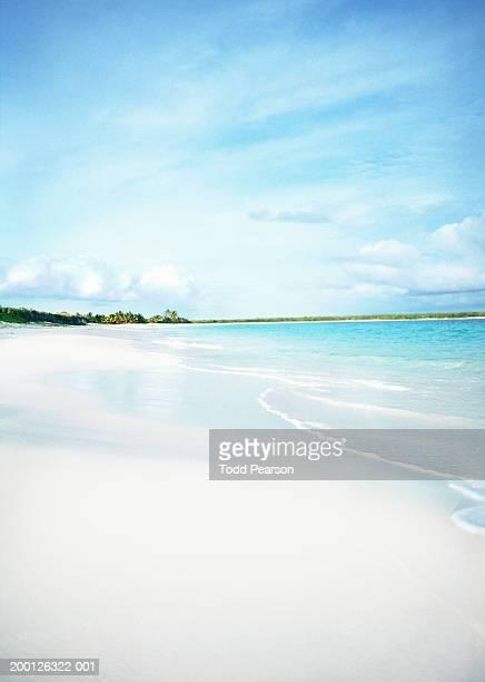 British West Indies, Anguilla, white sandy beach