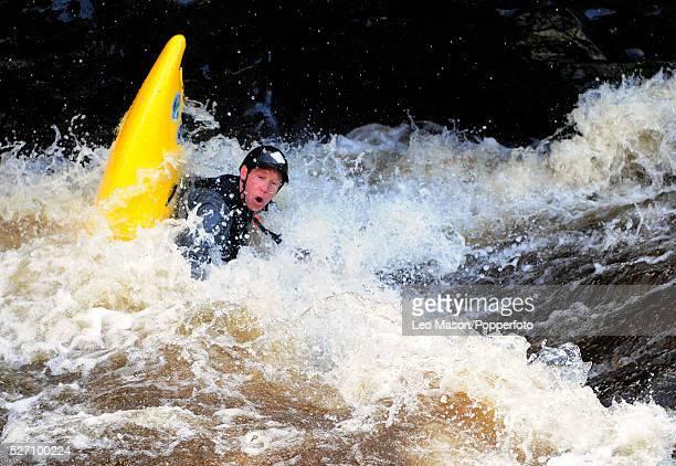 "British Wild Water Canoe Series Championships Llangollen Wales""   Location: Llangollen Wales, Wales, United kingdom."