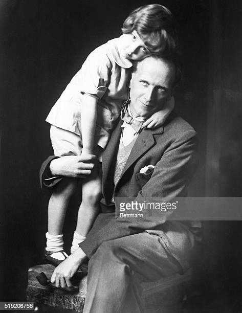 AA Milne and his son Christopher Robin around the time of the publication of WinniethePooh