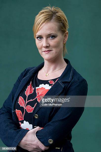 British writer and activist and the woman who broke the MPs expenses scandal at Westminster Heather Brooke pictured at the Edinburgh International...