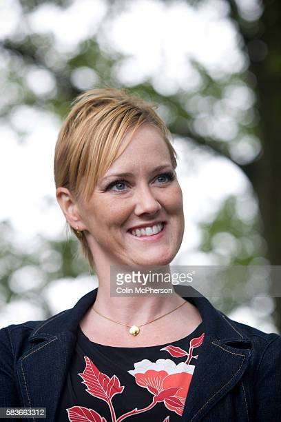 British writer and activist, and the woman who broke the MPs expenses scandal at Westminster, Heather Brooke, pictured at the Edinburgh International...