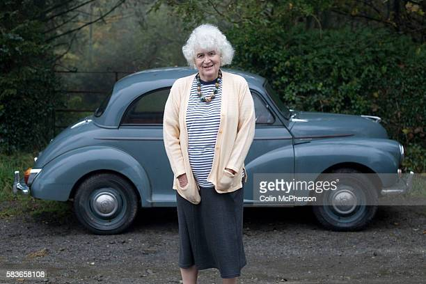 British writer and historian Jan Morris pictured at her home near the village of Llanystumdwy in Gwynedd north Wales Jan Morris has had a long and...