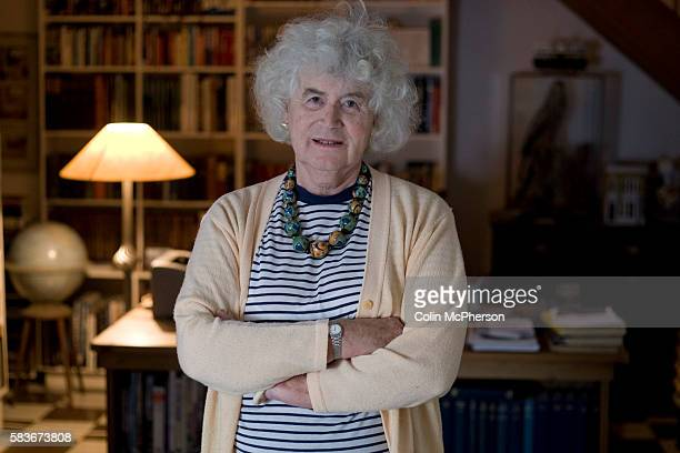British writer and historian Jan Morris, pictured at her home near the village of Llanystumdwy in Gwynedd, north Wales. Jan Morris has had a long and...