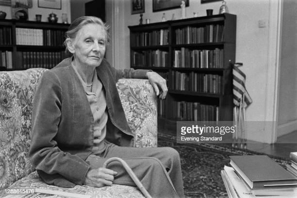 British writer Baroness Mary Stocks , UK, September 1971.