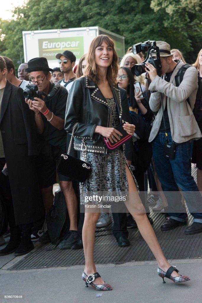 British Writer Host Model And Fashion Designer Alexa Chung Wears News Photo Getty Images