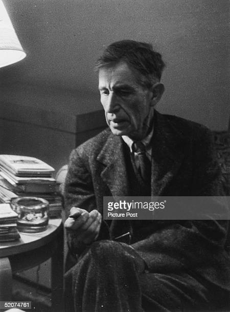 British writer Leonard Woolf the husband of Virginia Woolf 25th March 1944 Original Publication Picture Post 1671 Do We Read Better Books In Wartime...