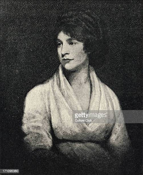 British writer Mary Wollstonecraft wife of William Godwin and mother of Mary Wollstonecraft Shelley