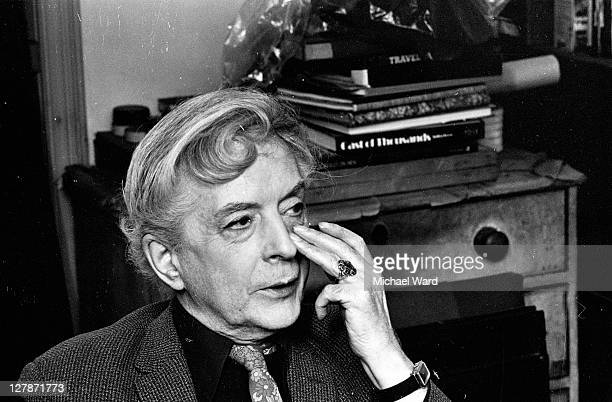 British writer Quentin Crisp, 1981.