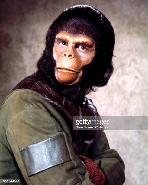 britishamerican actor Roddy McDowall as Galen in Planet of the Apes TV series 1974