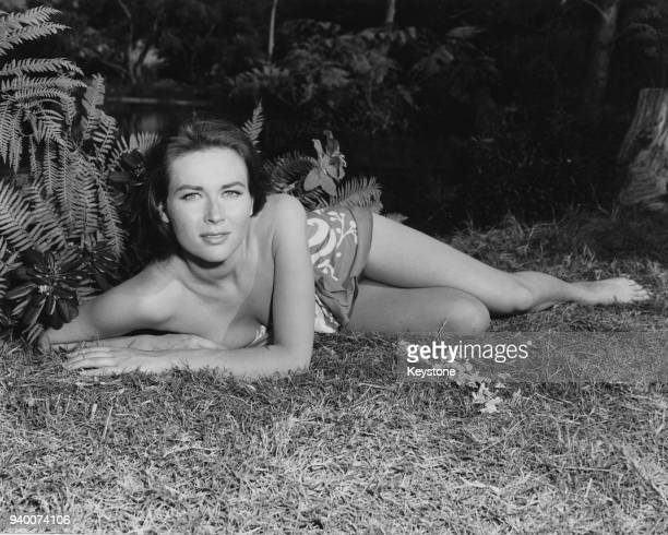 BritishAmerican actress Gia Scala USA circa 1955