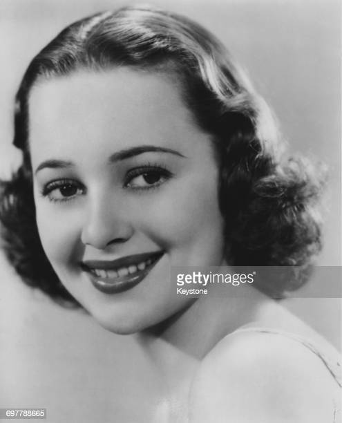 BritishAmerican actress Olivia de Havilland 1938