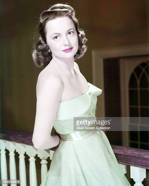 BritishAmerican actress Olivia de Havilland circa 1940