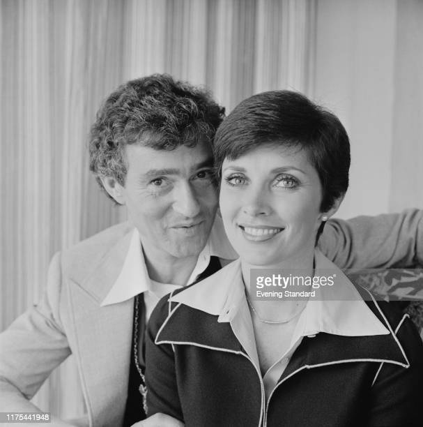 BritishAmerican hairstylist businessman and philanthropist Vidal Sassoon and CanadianAmerican actress and author Beverly Adams UK 11th October 1976
