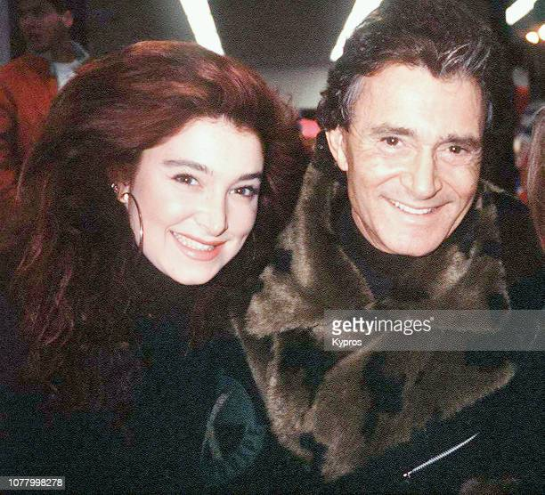 BritishAmerican hairstylist businessman and philanthropist Vidal Sassoon with his daughter American actress singer and fashion model Catya Sassoon...