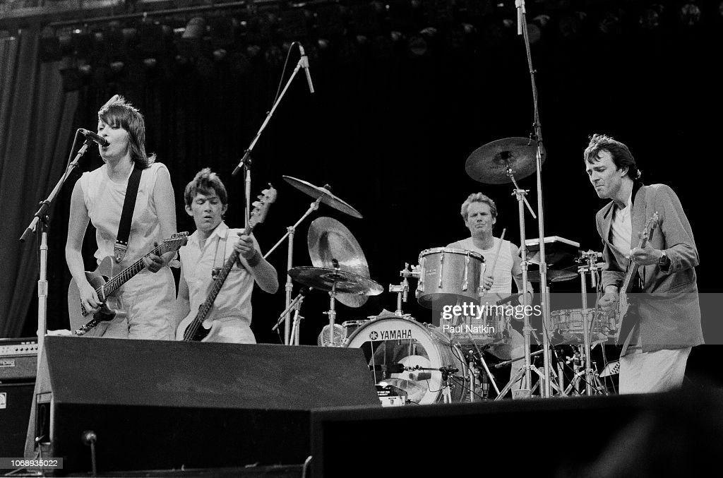Pretenders At The US Festival : News Photo
