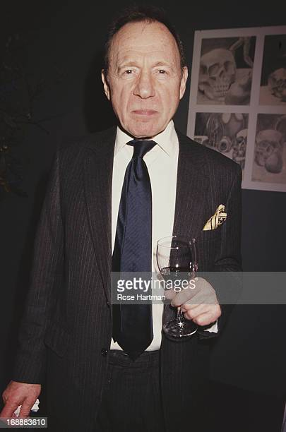 BritishAmerican writer and journalist Anthony HadenGuest attends the Art Show 2005 at the Seventh Regiment Armory in New York City 2005